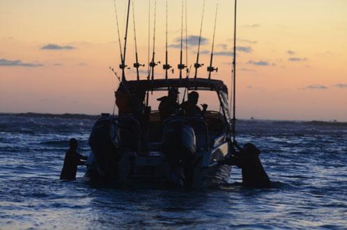 Mozambiqaue Pomene Fishing Image
